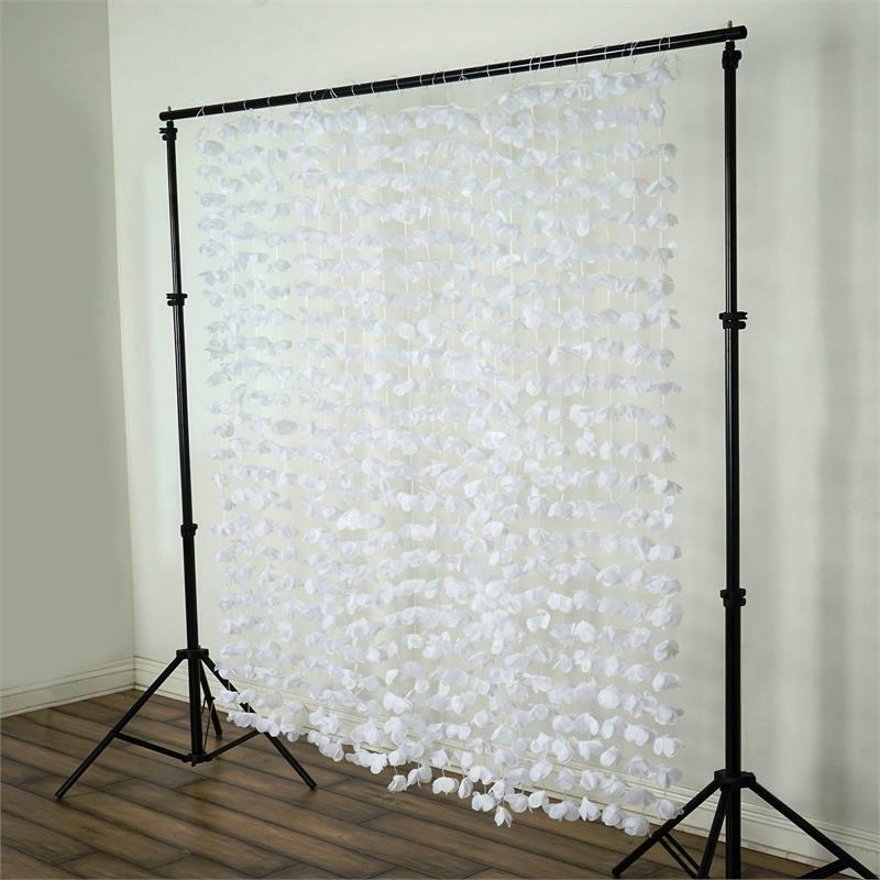 White Flower Garland Backdrop 6ft X 6 Ft Stage Party Wedding