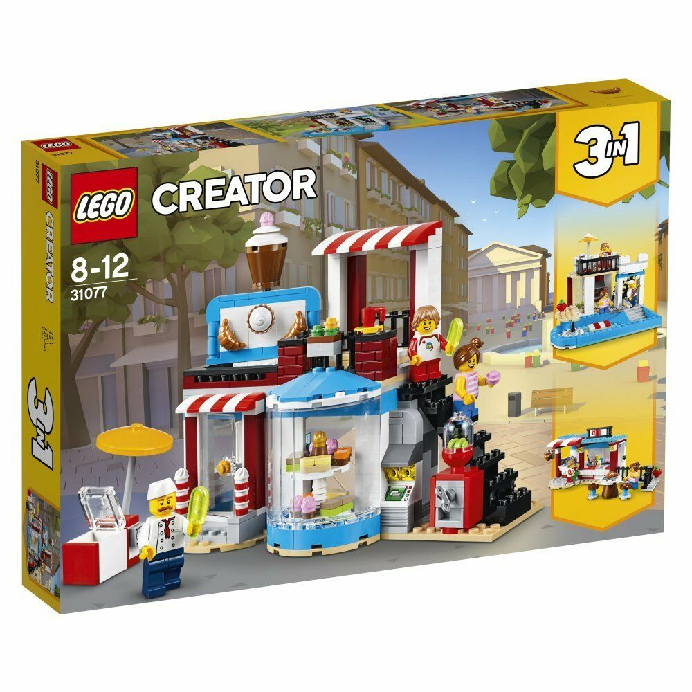 Brand New Lego Creator 3 In 1 Modular Sweet Surprises 31077 Sealed