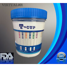 12 Panel Drug Test Cup -Test For 12 Drugs- FDA  CLIA - Lots as low as $2.75/ cup