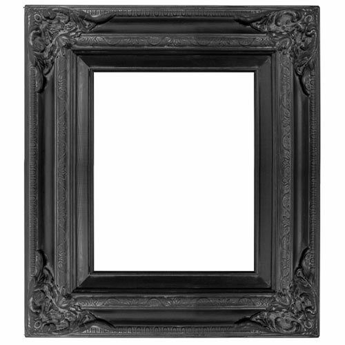 Antique Gallery Photo Picture Art Painting Frame Wood