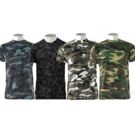 img-NEW GAME CAMO 200gsm COTTON/POLYESTER CAMOUFLAGE CREW NECK T-SHIRT S to 5XL, ek