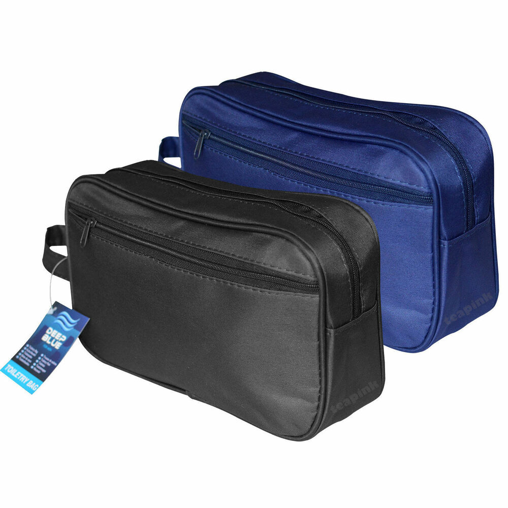 01d6cfe265 Details about New Ladies Cosmetic Purse Men Grooming Toiletry Travel Bag  Women Wash Holder Kit