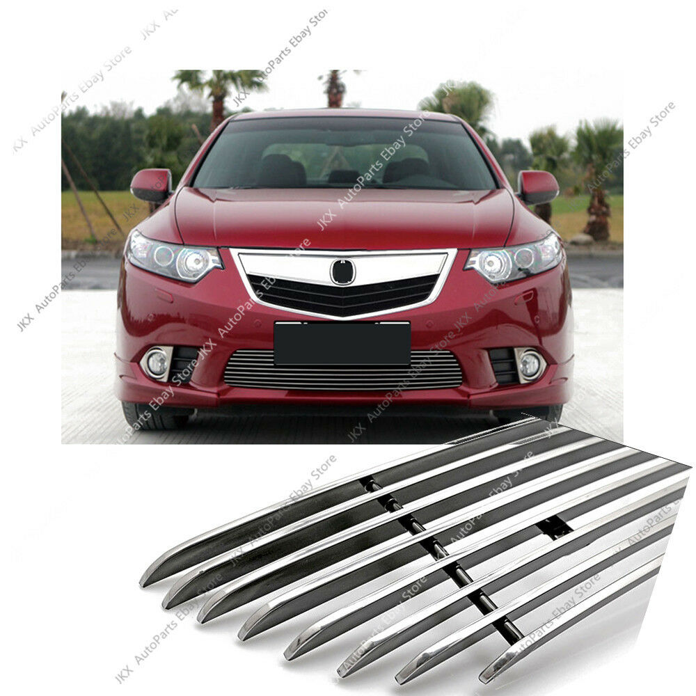 Stainless Front Bumper Loewr Grille Trim Refit For Honda