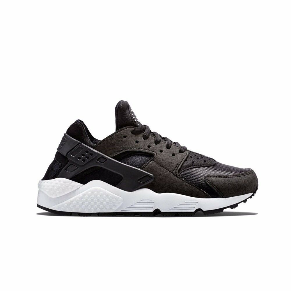 1a16804dda43 Details about Nike Air Huarache Run (Black Black-White) Women s Shoes 634835 -006