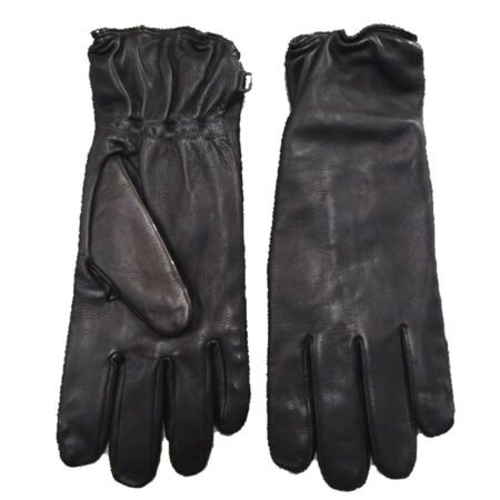 img-BRITISH ARMY SURPLUS ISSUE GRADE 1 BLACK LEATHER ECW SOLDIER 2000 COMBAT GLOVES