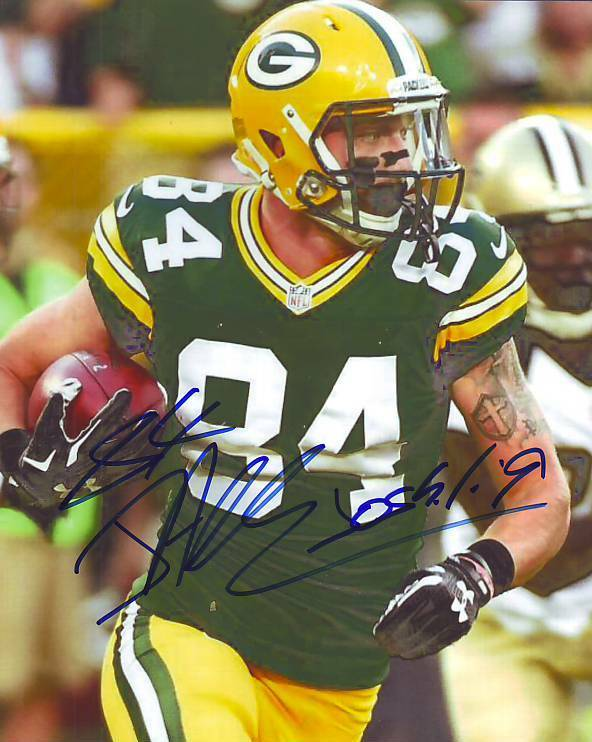 AUTOGRAPHED 8x10 Color Photo of Jared Abbrederis - Green ...