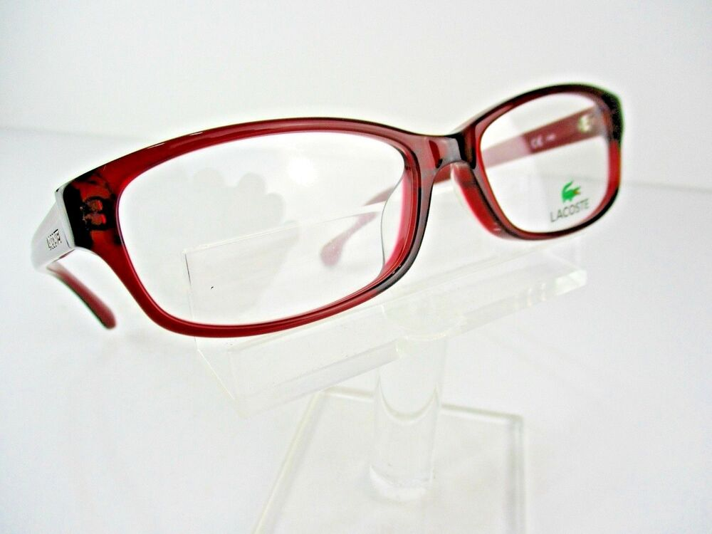 c8588765e6 Details about NEW Lacoste L-2695A (603) Crystal Red 54 X 16 140 mm Eyeglass  Frames