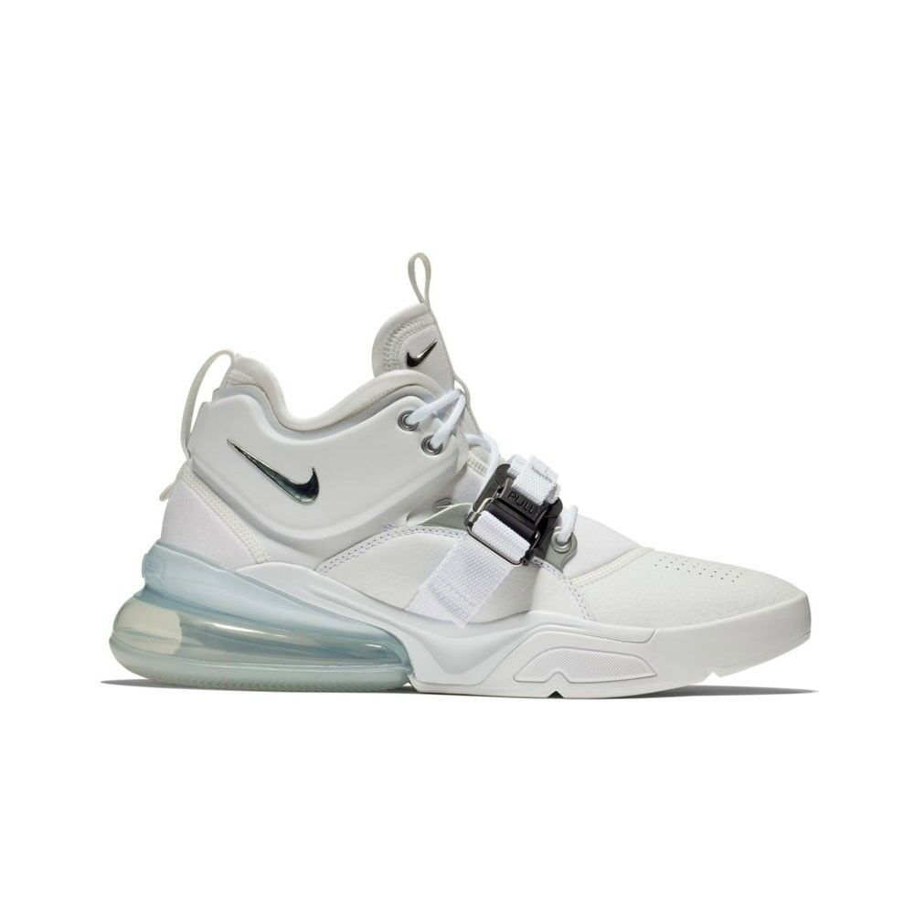Details about Nike Air Force 270 (White Metallic Silver) Men s Shoes  AH6772-100 bfeebb28c