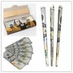 $100 Dollar Bill Rolling Papers 1 Wallet Creative Dollar Cigarette papers