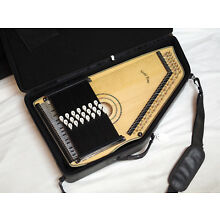 GOLD TONE Chord-A-Harp ELECTRIC autoharp NEW w/ Bag