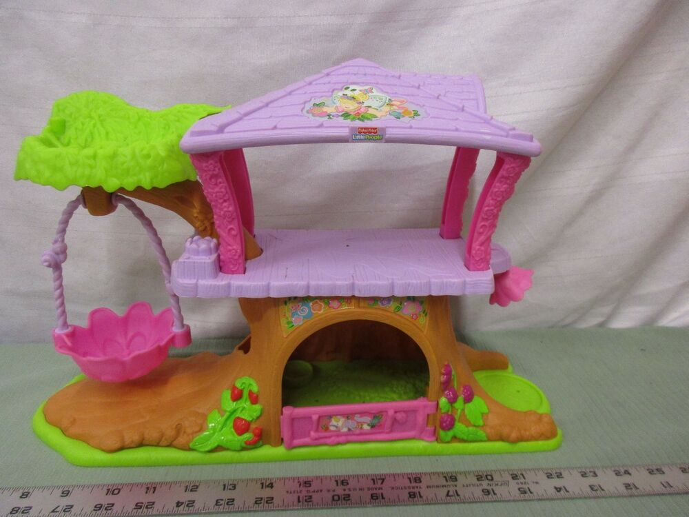 Fisher Price Little People Princess Fairy Treehouse House ...