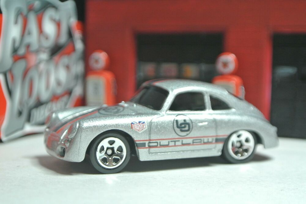 hot wheels porsche 356a outlaw silver loose 1 64 t1 ebay. Black Bedroom Furniture Sets. Home Design Ideas