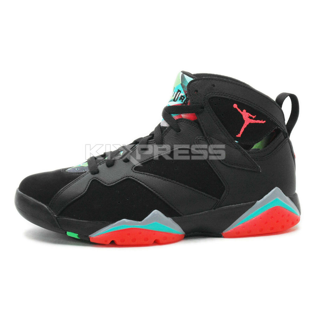 watch 5ed63 1f5cc Details about Nike Air Jordan 7 Retro 30th  705350-007  Basketball Marvin  The Martian Edition