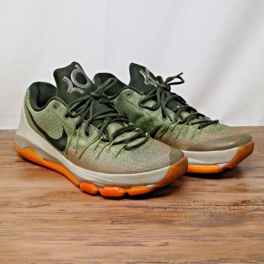 b6d6a9ed6dd6 Details about Nike Mens KD 8 Easy Euro Lunar Grey Sequoia-Alligator  Sneakers 749375-033 Sz 12