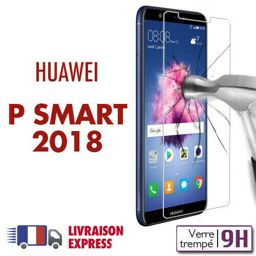 Huawei P SMART 2018 verre trempé protection ecran vitre trempé huawei p smart