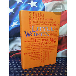 NEW Little Women by Louisa May Alcott Faux Leather Sofcover Word Cloud Edition