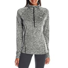 Under Armour Women's Tech 1/2 Zip Long Sleeve Shirt Various Colors