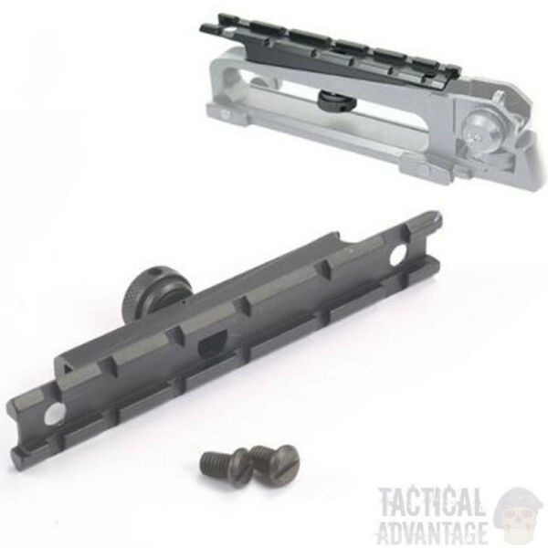 20mm Carry Handle 4 16 Weaver Picatinny Rail Mount Scope Laser Airsoft AEG UK M