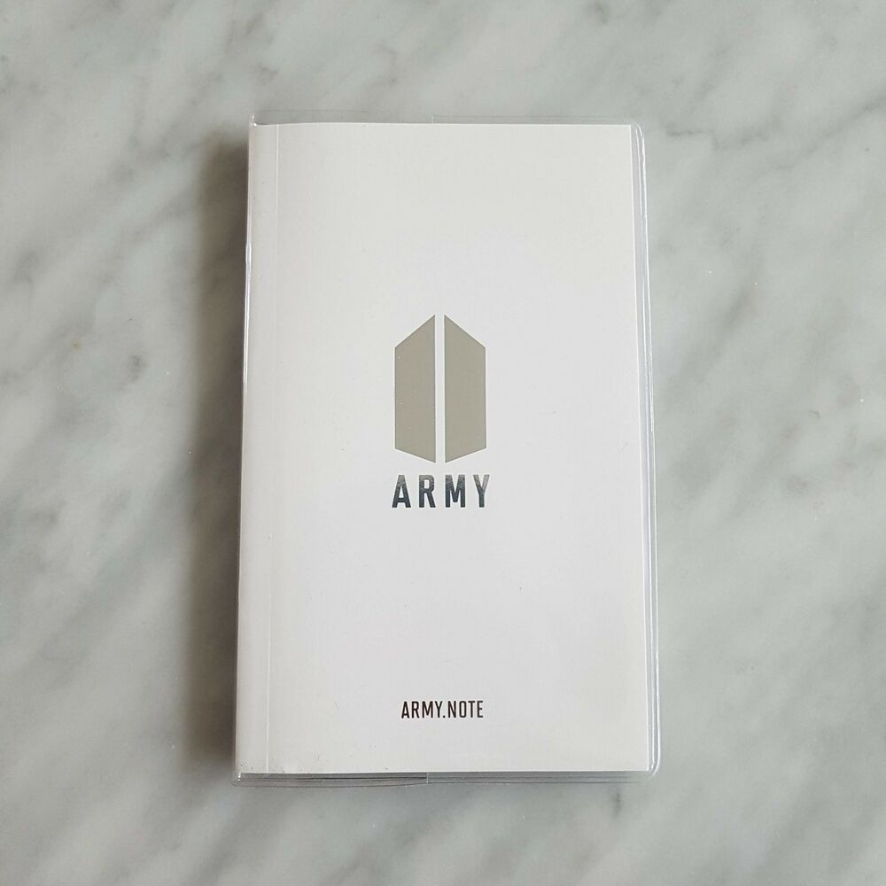 Details about bts global official fanclub army 4th term membership army note sticker