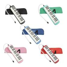 5 Color Portable 32 Key Melodica Student Class Harmonica with Bag Toy Gift