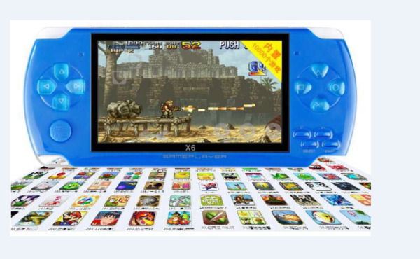 8GB Portable 4.3'' PSP Handheld Game Console 1000 Free Games Built-In Camera