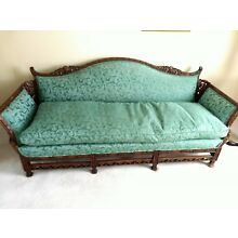Chinese Chippendale Antique Sofa