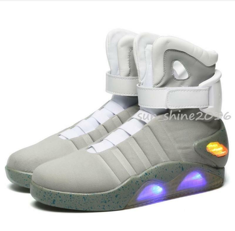 a0bc1410ea5 Details about MEN WARRIOR BASKETBALL LED LIGHT SHOES KEY CHAIN Cool Hot BACK  TO THE FUTURE 13
