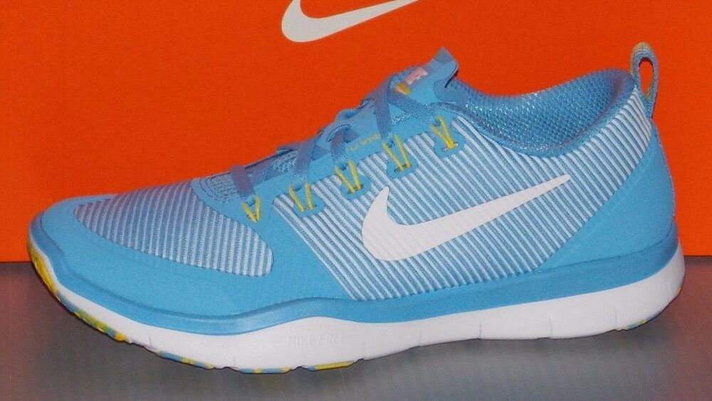 a75ade36a515 Details about MENS NIKE FREE TR VERSATILITY AMP in colors BLUE   WHITE    YELLOW SIZE 9.5