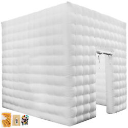 Kyпить Inflatable LED Light Photo Booth Air Tent Wedding Party Christmas 2.5M Cube на еВаy.соm