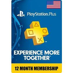 Kyпить Sony PlayStation PS Plus 1 Year 12 Month Membership Subscription Fast Delivery на еВаy.соm