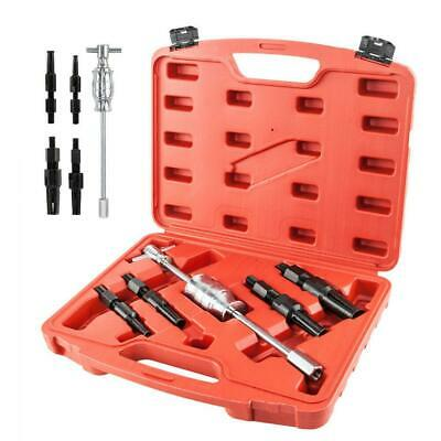 5pcs Blind Hole Pilot Bearing Gear Puller Slide Hammer Removal Repair Kit w/Case