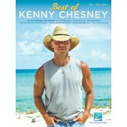 Kyпить Best of Kenny Chesney Sheet Music Piano Vocal Guitar SongBook NEW 000275347 на еВаy.соm