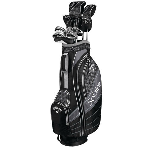 Callaway Golf- Ladies Solaire 8 Piece Set Black