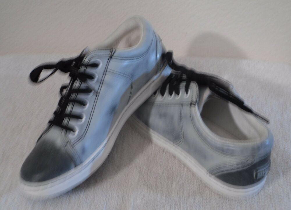 f7bc45cd56a NEW UGG Tomi Womens Water Resistant Leather Sneakers Shoes 7 Black/White  $100 | eBay