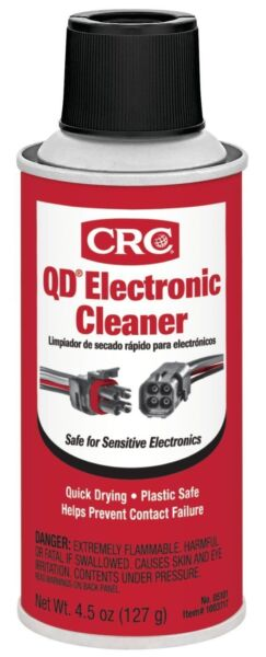 CRC 05101 QD Electronic Cleaner #05101 - Quick Drying Formula 4.5oz Can