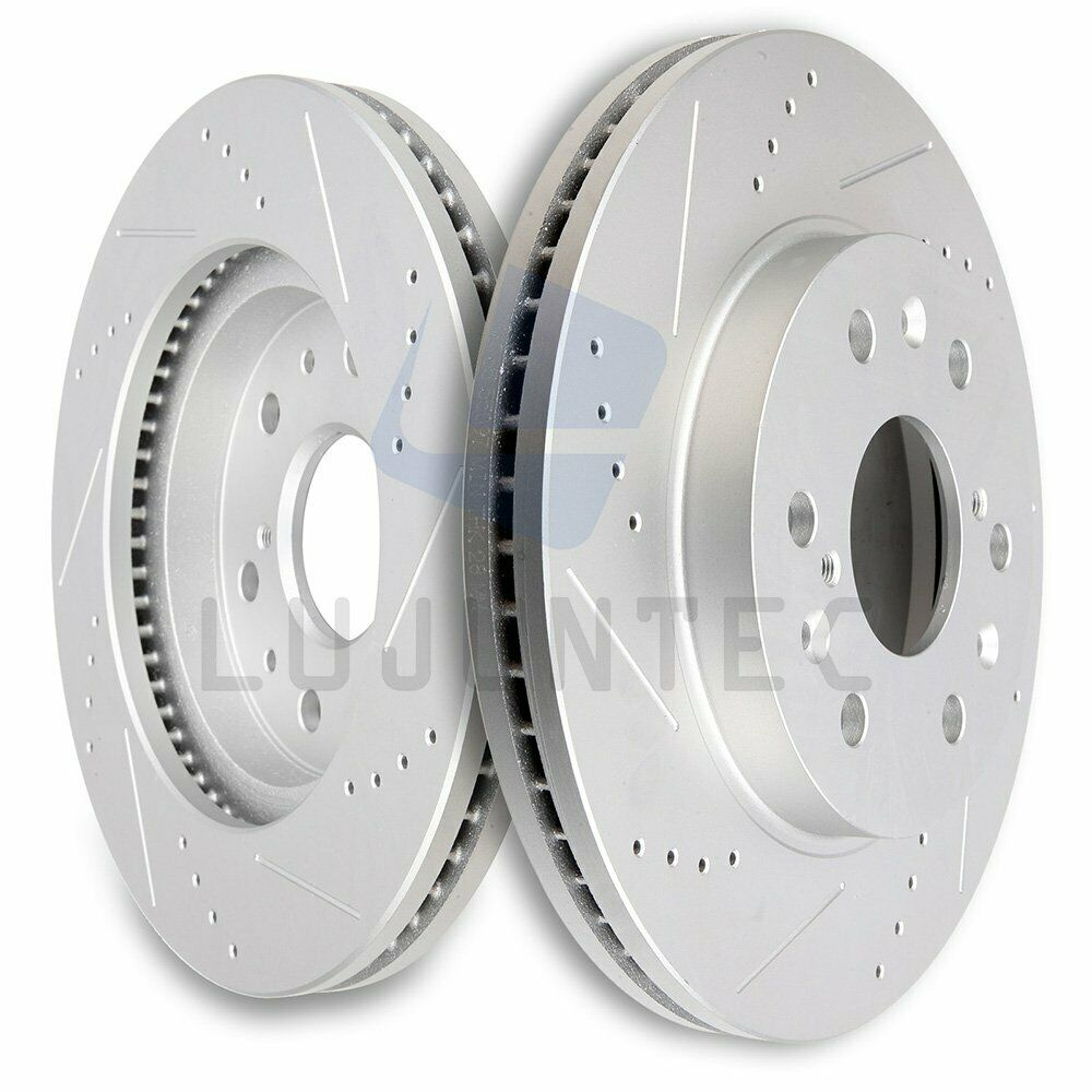 Front Brake Discs Rotors For 2009 2010 2011 2012- 2014 GMC