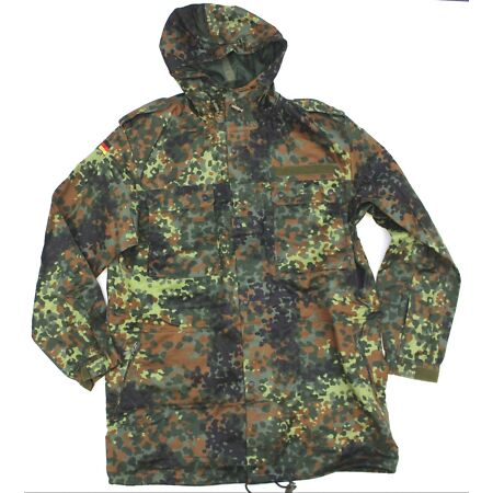 img-GERMAN ARMY PARKA in FLECKTARN CAMO GENUINE UNISSUED 44
