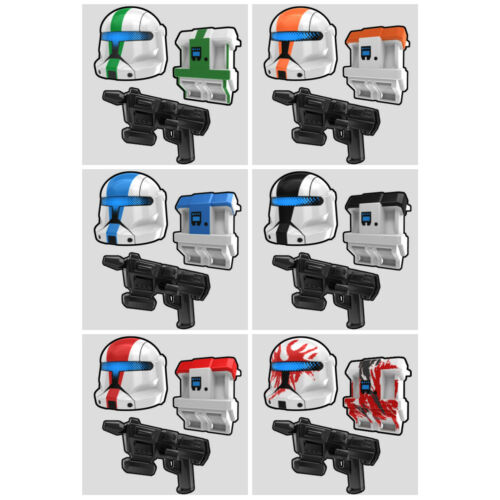 Custom Clone COMMANDO PACK for Star Wars Minifigures -Pick the Style!-