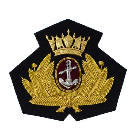 img-Merchant Navy Cap Badge, Officers, Bombay Style R2040