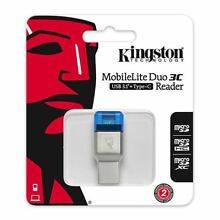 Kingston FCR-ML3C MobileLite Duo 3C USB 3.1 Type-C Card Reader for Micro SD TF