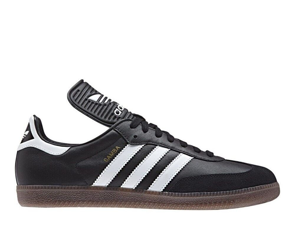 1690827b1df8 Details about Adidas Samba Classic Og mens Trainers BZ0224 black white  Leather made in Germany