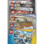 """LEGO 4"""" X 6"""" Instruction Booklets - YOU PICK! Toy Story, Star Wars. City, plus"""