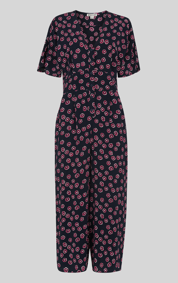3d266d51b13a Whistles - £139 Lenno Floral Jumpsuit - Multi - New With Tag - Size 14 -  Women s