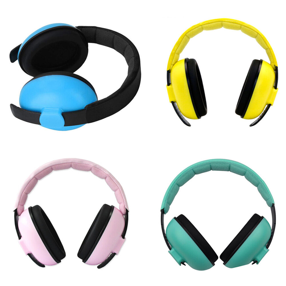 84db705938a Details about Baby Ear Earmuffs Noise Cancelling Headphones Kids Hearing  Care Protection