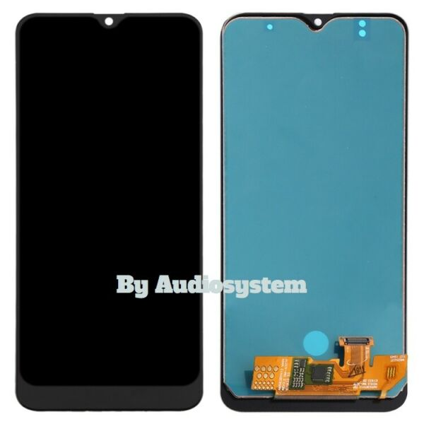 DISPLAY LCD+TOUCH SCREEN per SAMSUNG GALAXY A30S SM-A307 NERO VETRO SCHERMO