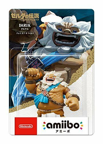 Nintendo Amiibo Daruk Zelda Breath of the Wild Switch Wii U New