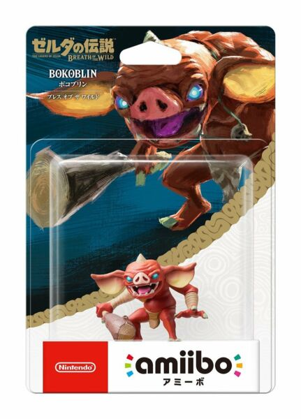 Nintendo Amiibo Bokoblin Legend of Zelda Breath of the Wild New