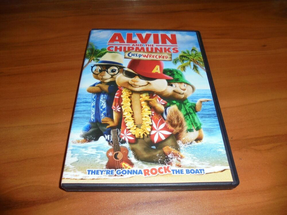 alvin and the chipmunks chipwrecked dvd widescreen 2012 used