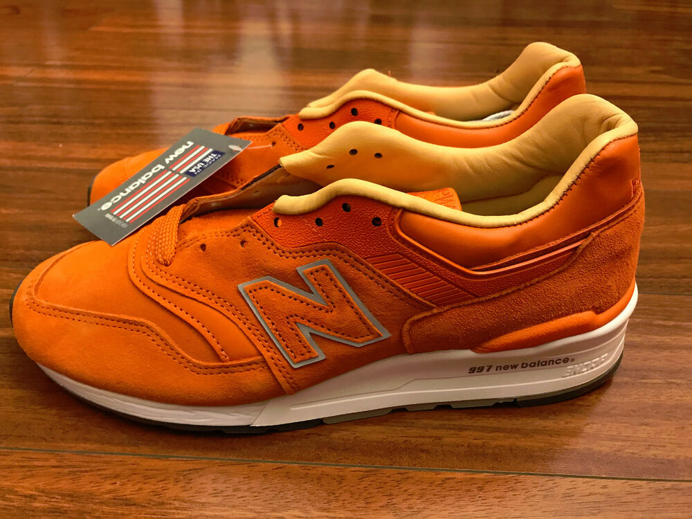 size 40 c0cd3 aa8ab Details about DS NEW BALANCE 997 Concepts LUXURY GOODS ORANGE M997TNY sz  9.5 ! aime leon kith