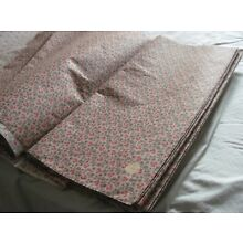Antique Vintage 1800's Victorian Fabric Calico Print Manchester Mills N.H. BTY